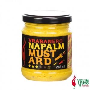 Vrabanero Napalm Mustard – senf s chili papričicama