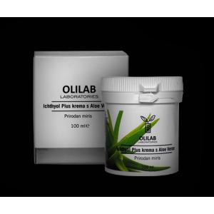 Olilab Ichthyol Plus krema s Aloe Verom