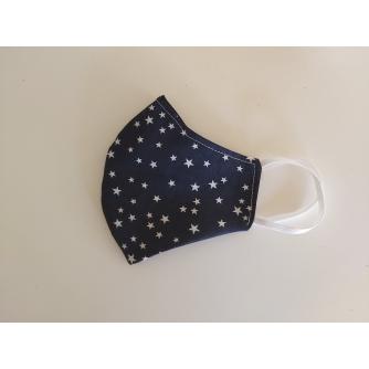 Pamučna periva maska s motivom i podesivom gumicom za djecu
