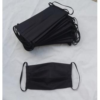 Pamučna periva maska crna