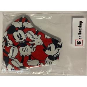Pamučna periva maska s motivom i podesivom gumicom za djecu Miki
