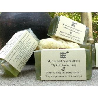 Mljet u maslinovom sapunu