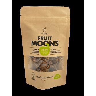 Fruit moons - voćna koža od jabuke s lješnjacima i mentom 100 g / 50 g