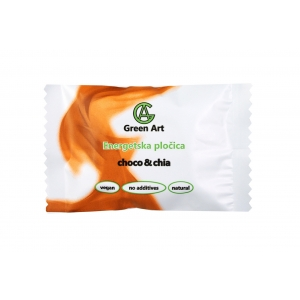 Green Art - Energetska pločica choco & chia 45 g