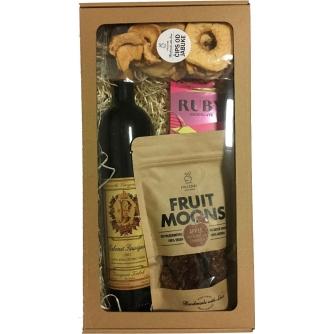 Zdrave grickalice - Vino & Ruby čokolada, Paket 6