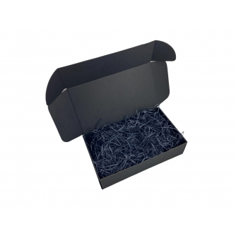 Poklon kutija crna sa punjenjem