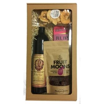 Zdrave grickalice - Vino & Ruby čokolada, Paket 9
