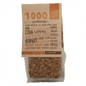 Krekeri 1000 sjemenki, 100g
