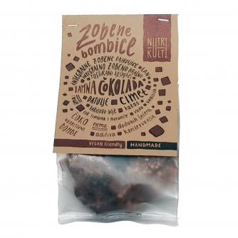 Zobene bombice, tamna čokolada, 200g