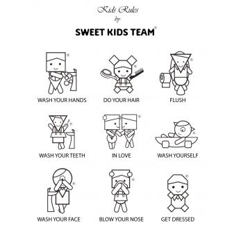 Kids Rules - dječja haljina