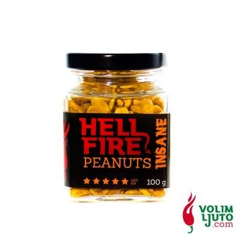 Hellfire Peanuts Insane – kikiriki s chili papričicama