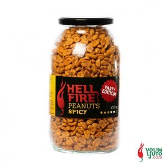 Hellfire Peanuts Spicy – kikiriki s chili papričicama